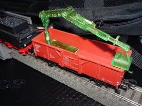 HO train coal crane