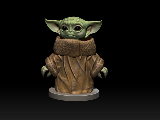 Baby Yoda. by Multiverse3DDesigns - Thingiverse