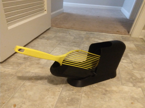 Kitty Litter Scoop Holder with Cover