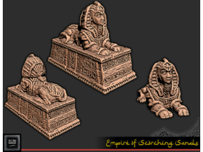 Sphynx Statue - Tabletop Gaming