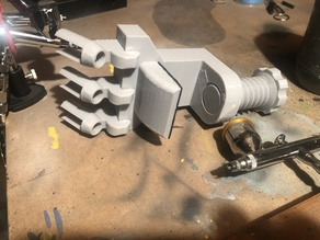 Airbrush holder table clamp