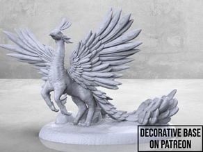 Peacock Griffin - Tabletop Miniature