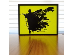 Voldemort Dementor Harry Potter silhouette art