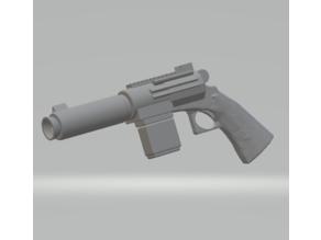 FHW:Shae Vizla Blaster Pistol (starwars)