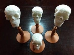 Celtic Skull Candelabra