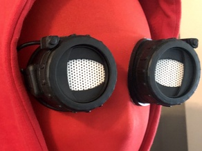 Spider-Man Homemade Goggle Lenses
