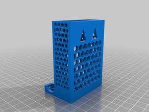 Battery dispenser honeycomb