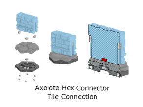 Magnetic Base Systems for Axolote Hex Tiles