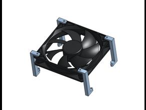 UNI - проставка Lerdge K для 120мм вентилятора