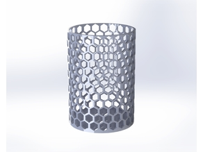 Honeycomb Cup V2 - No supports Required