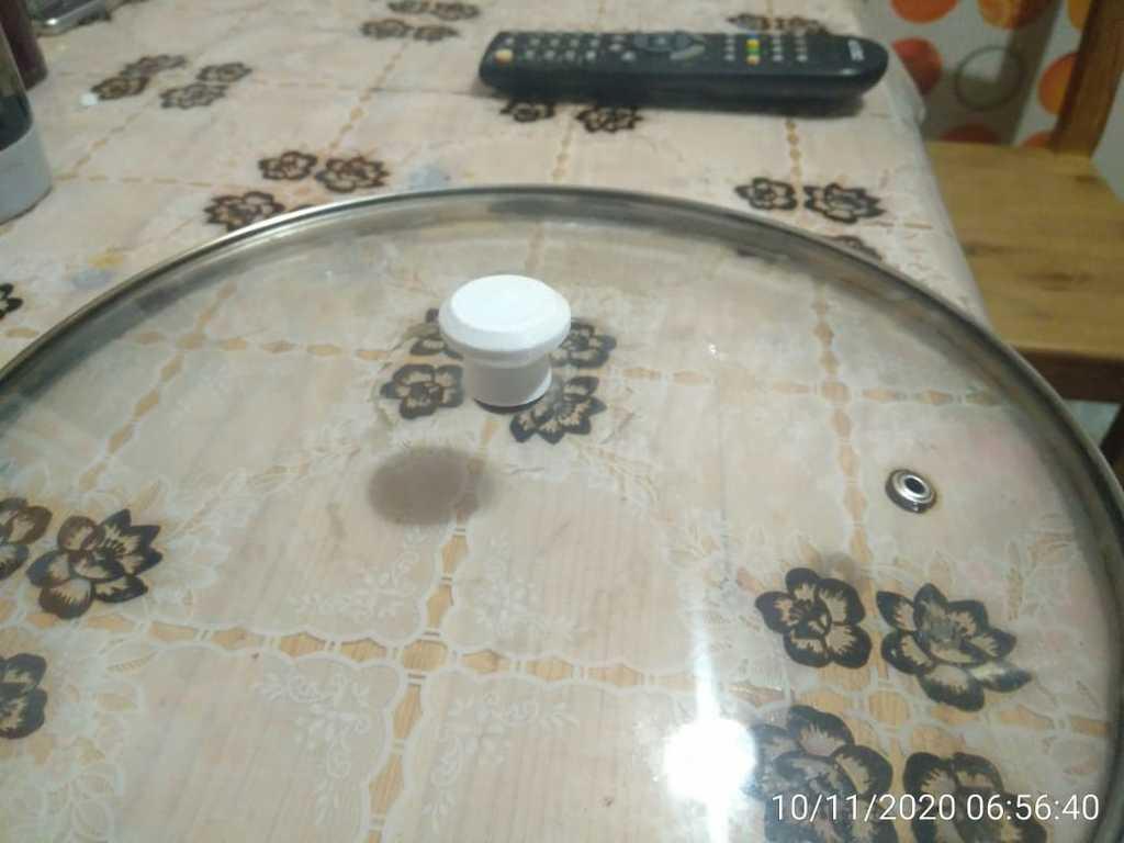 Small lid handle