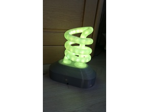 "RGB ""Energy saving lamp"""