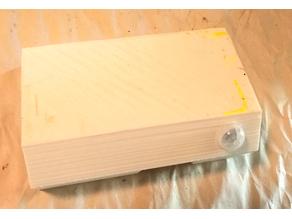 Above Door Motion Detector (Wemos D1 Mini + AA Batteries)