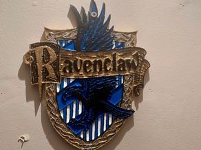 Harry Potter - Ravenclaw Plaque / Sign