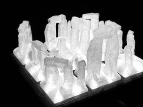 """""""Stonehenge"""" Modular LED Lamp"""