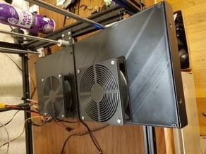 Ender 5 Plus 120mm Fan Control Box Cover