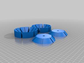 Expanding pipe mandrel (configurable)