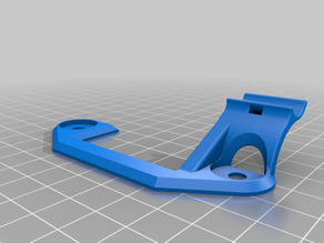 Creality Ender 3 - Z axes & Extruder cable support