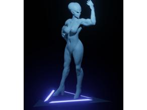 Strong Female Alien
