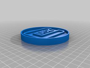Glock Logo Coaster