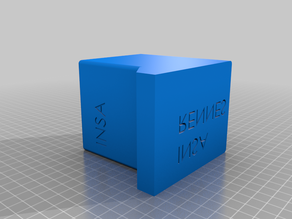 Pen holder box
