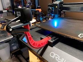 3D Printer Front Camera Mount for Artillery (EVNOVO) X1 Sidewinder