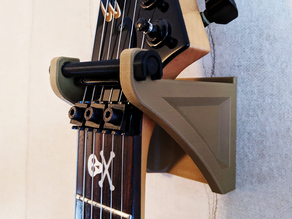 Locking Guitar Wall Mount