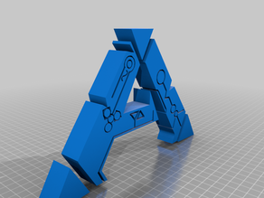 Ark Survival Evolved hollow logo for leds