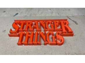 Stranger Things frame with lights