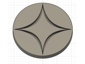 Waste Mana Symbol Coin