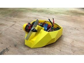 3D printable antweight battlebot: Bulldog