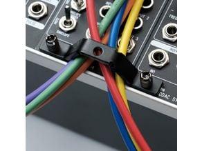 customizable eurorack cable organizer