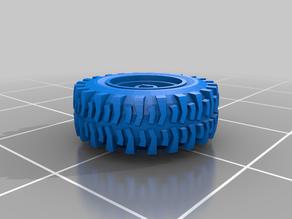 Gaslands Super Swamper Wheel+Tire 13mm
