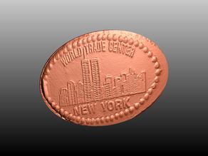 World Trade Center Elongated Penny