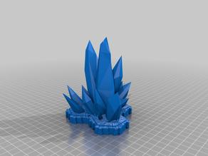 3 Hex Crystal terrain