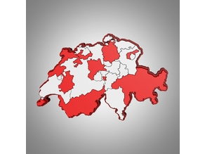 Swiss Map Puzzle