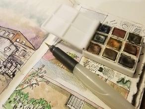 Half Pan Watercolor Kit