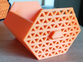 HIVE - Hex drawer with mesh front