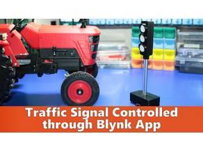 Traffic Signal Control through Blynk App