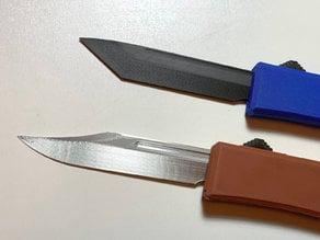 Alternate blades for OTF switchblade