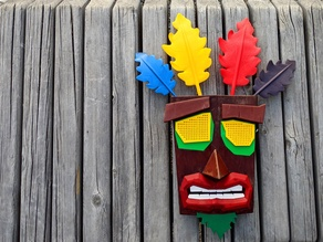 Wearable Aku Aku Mask