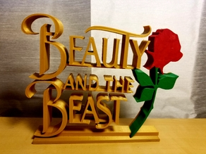 Beauty and the Beast Signs