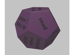 To-Do Dice / What should I do dice