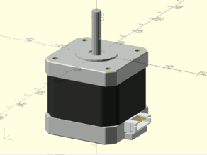 Parametric NEMA 17 Stepper Motor