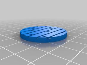 32mm Wood floor base