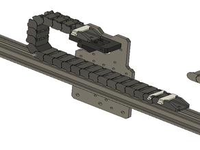 drag chain 11x20 for 20mm slot extrusion , workbee X axis