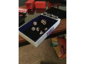 D&D Dice Tray (Table Clamp)