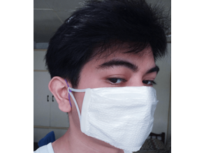 Face Mask Clip for DIY Surgical Mask