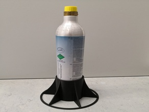 Sodastream CO2 bottle stand