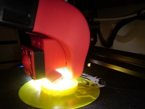 Fang E3D V6 mix with LED and 40mm fans
